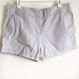 J Crew Shorts City Fit 100% Cotton Khaki Size 10